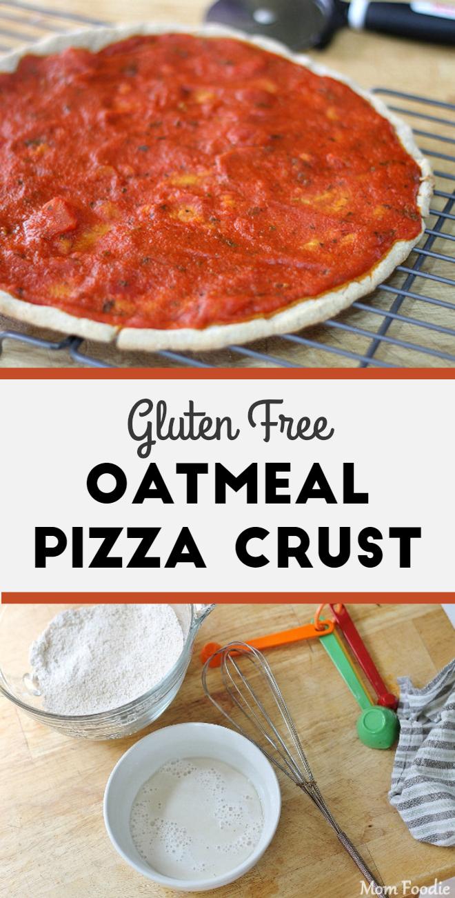 Gluten-Free Oatmeal Pizza Crust Recipe