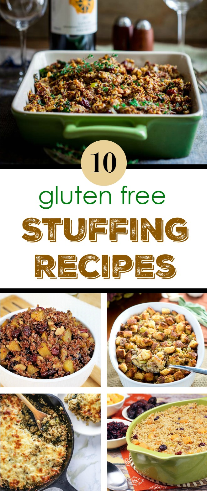Gluten Free Stuffing Recipes for Thanksgiving