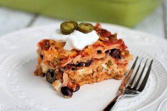 Gluten Free Tex-Mex Lasagna Recipe
