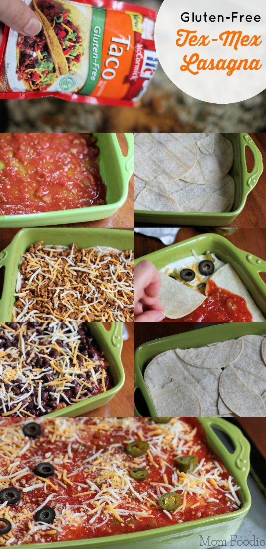 Gluten-Free Tex-Mex Lasagna Recipe