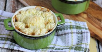 Turkey Dinner Shepherds Pie Recipe (gluten-free)