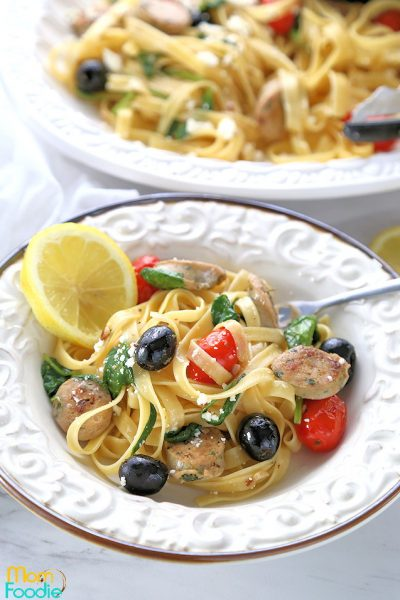 Greek Pasta with Sausage