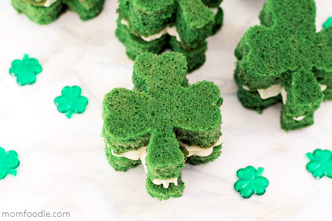 Green St. Patrick's Day Dessert
