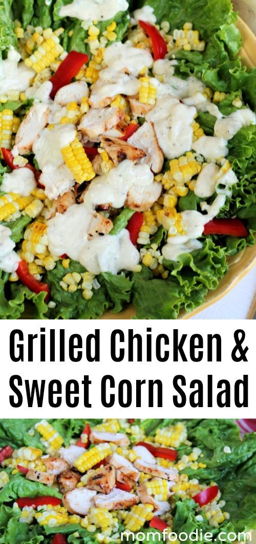 Grilled Chicken & Sweet Corn Salad