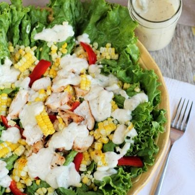 Grilled Chicken and Sweet Corn Salad Recipe