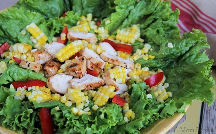Grilled Chicken and Sweet Corn Salad