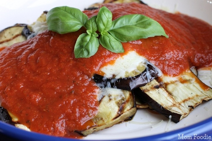 Low carb eggplant