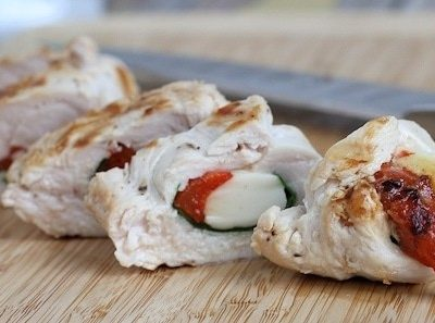 Grilled Stuffed Chicken Italiano Recipe