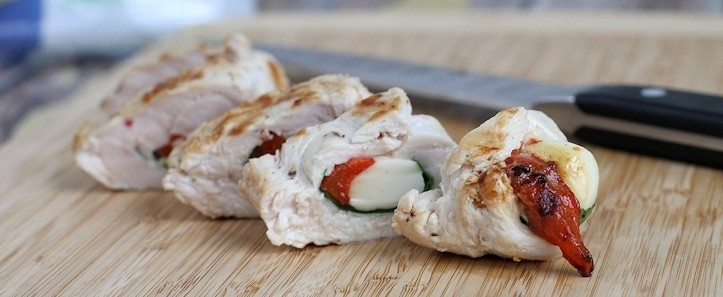 Grilled Stuffed Chicken Italiano Recipe
