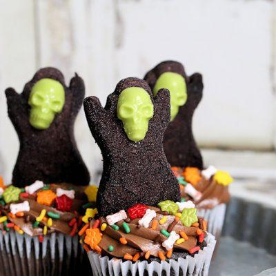 Grim Reaper cupcake