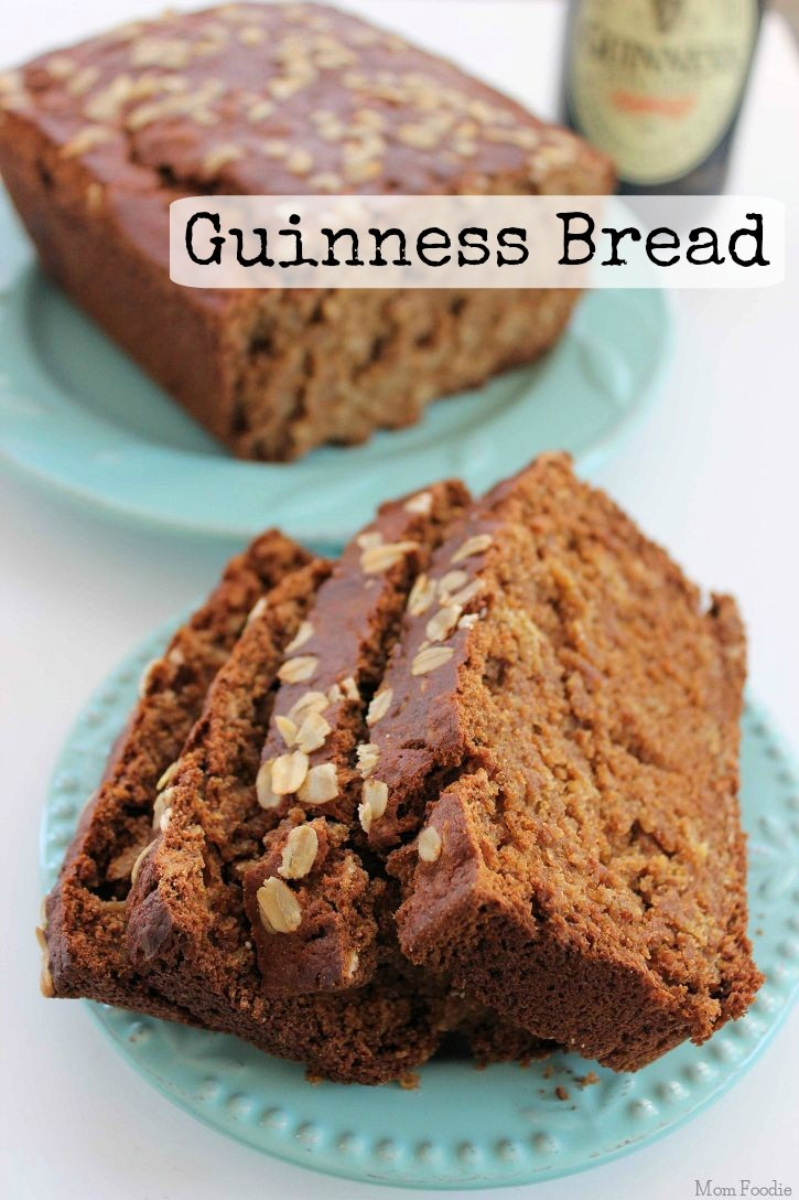 Guinness Bread Recipe for St. Patrick's day - Perfect St. Patrick's day Food