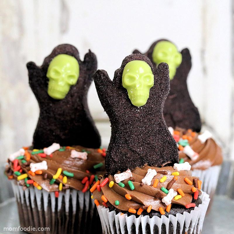 Halloween Cupcakes - Grim Reaper