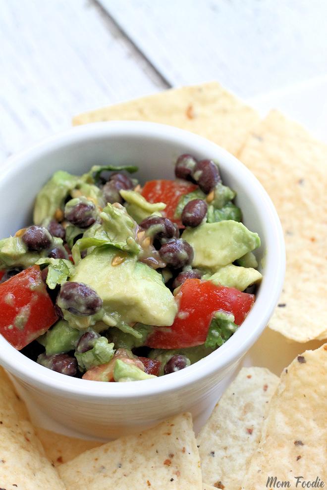 Healthy Black Bean Guacamole