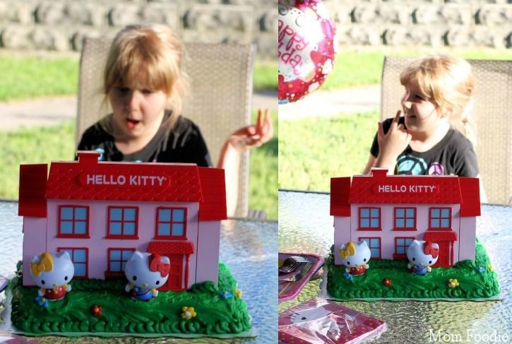 Hello Kitty Birthday Cake - reaction