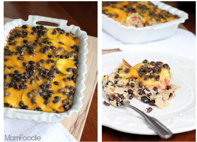 Hidden Valley Ranch Black Bean & Veggie Tortilla Casserole Recipe