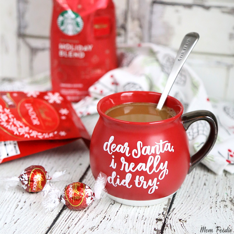 Holiday Blend Coffee with Milk Chocolate Truffles