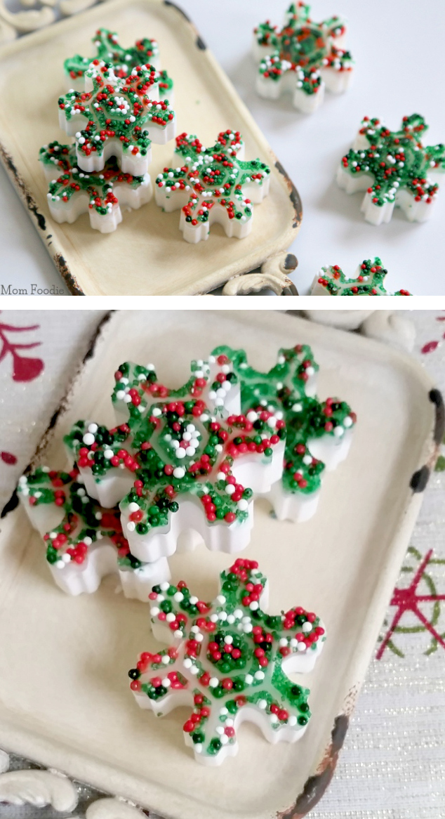 Homemade Holiday Soaps