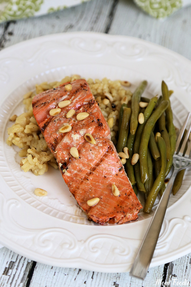 Honey Ginger Balsamic Salmon 4