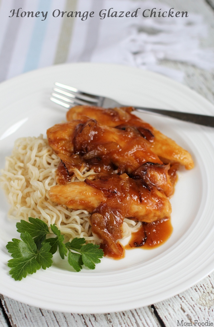 Honey Orange Glazed Chicken Recipe