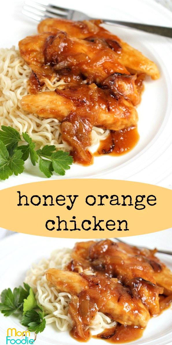 Honey Orange Chicken Pinterest