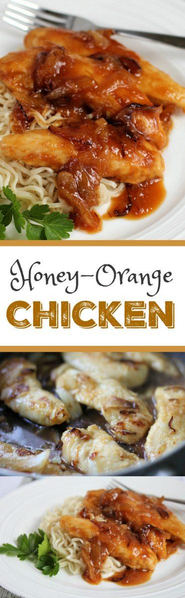 Honey Orange Glazed Chicken