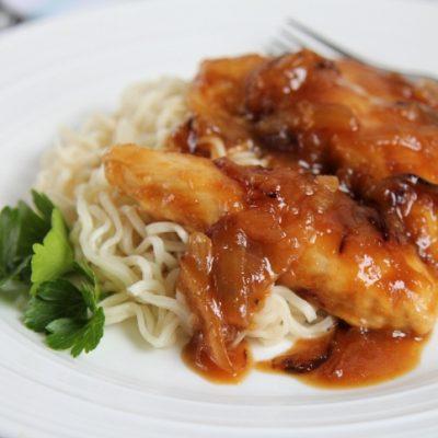 Honey Orange Glazed Chicken Recipe
