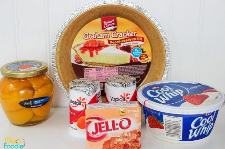 Peach Pie Ingredients