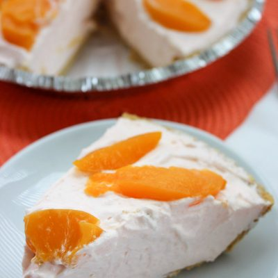 easy peach pie
