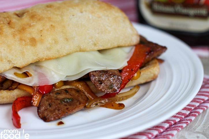 sausage pepper sandwich
