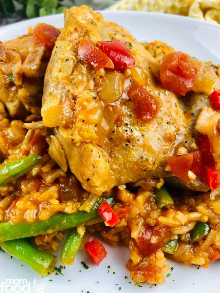 Slow Cooker Paprika Chicken.