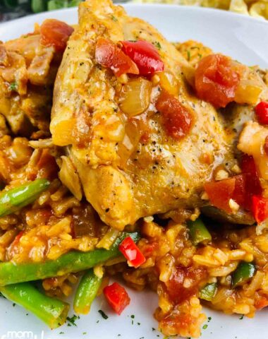 Paprika Chicken slow cooker