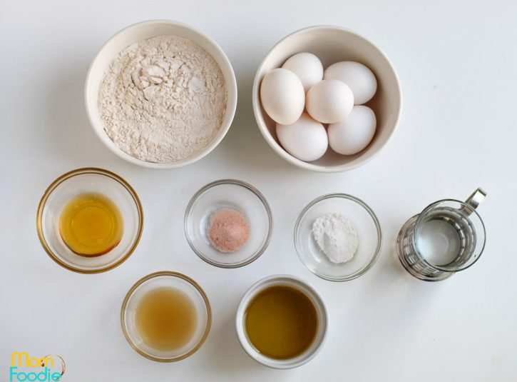 ingredients for paleo bread