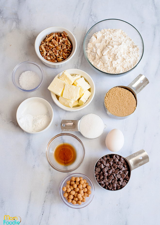Ingredients Salted caramel cookie bars