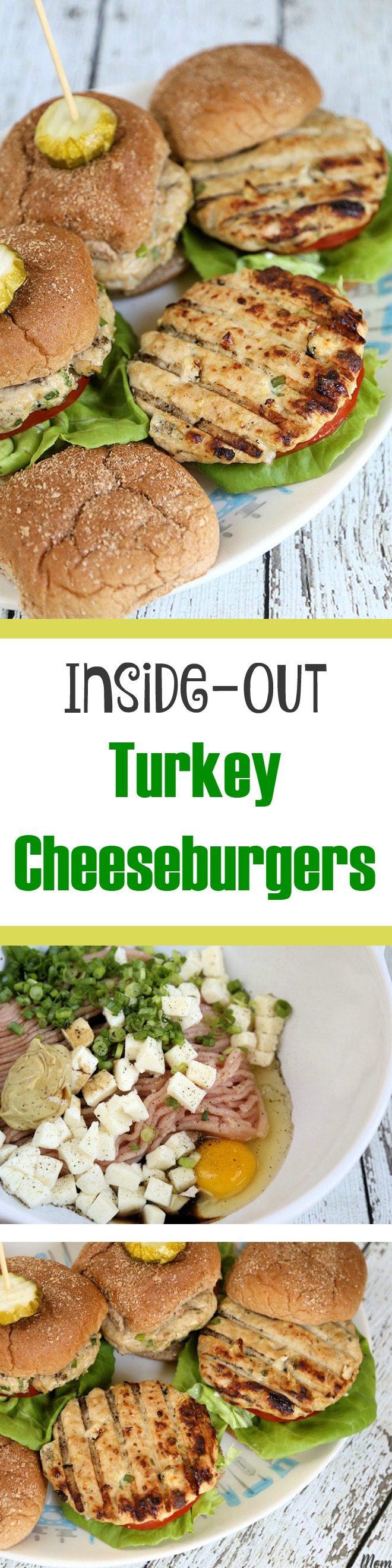 Inside-out Turkey Cheeseburgers Recipe