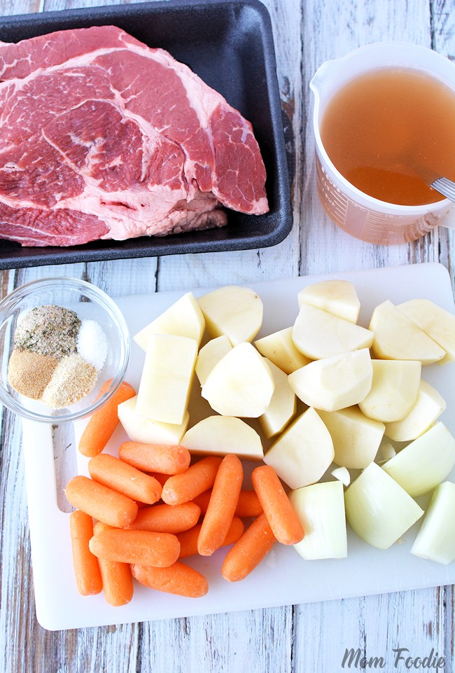 Instant Pot Pot Roast Ingredients