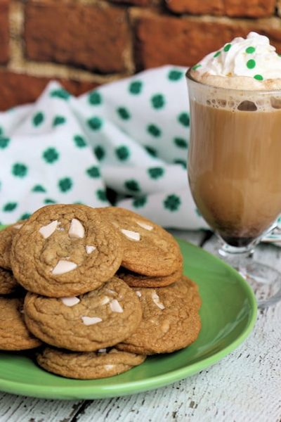 Irish Coffee Cookies St Patrick's Day Dessert Recipe