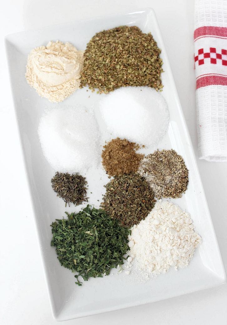 Italian Seasoning mix for dressing