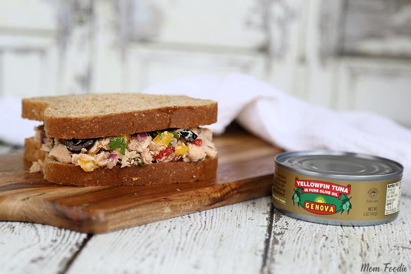 Italian Tuna Sandwich no mayo