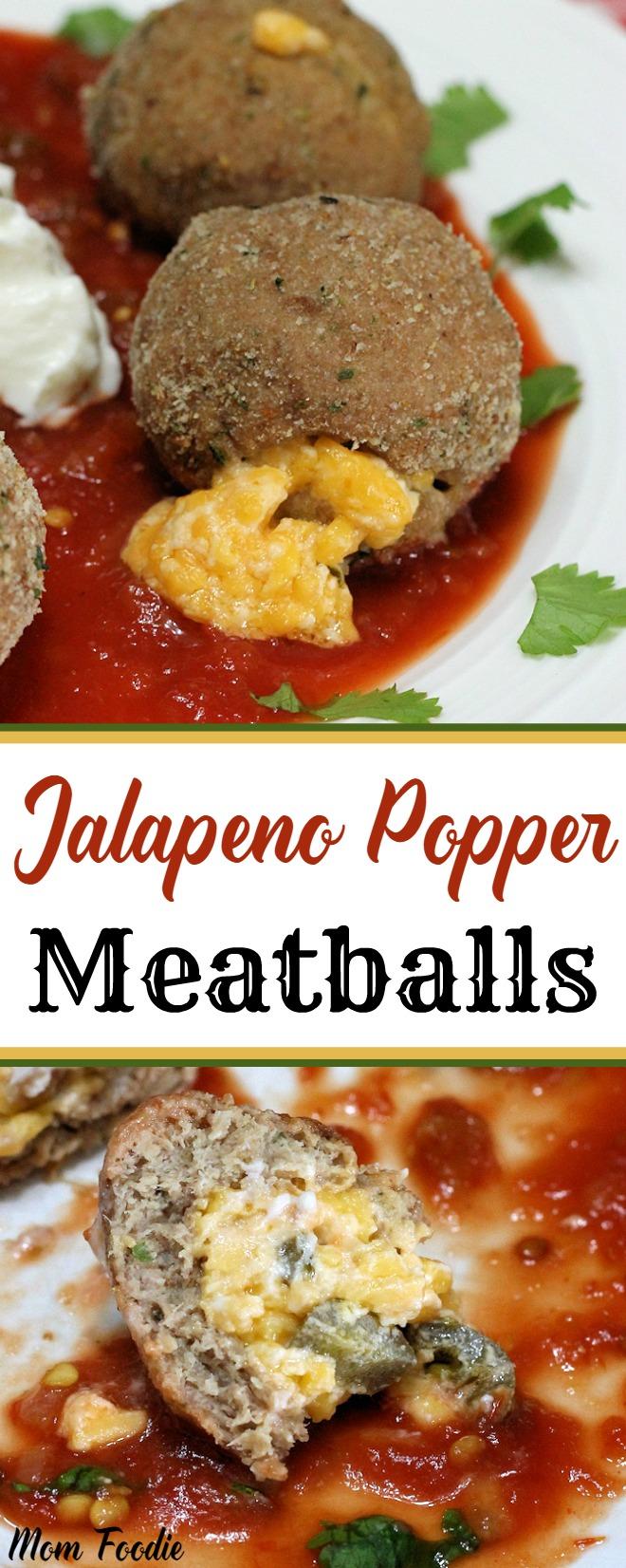 Jalapeno Popper Meatballs Recipe