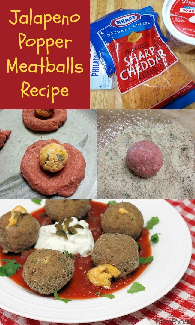 Jalpeno Popper Meatballs Recipe