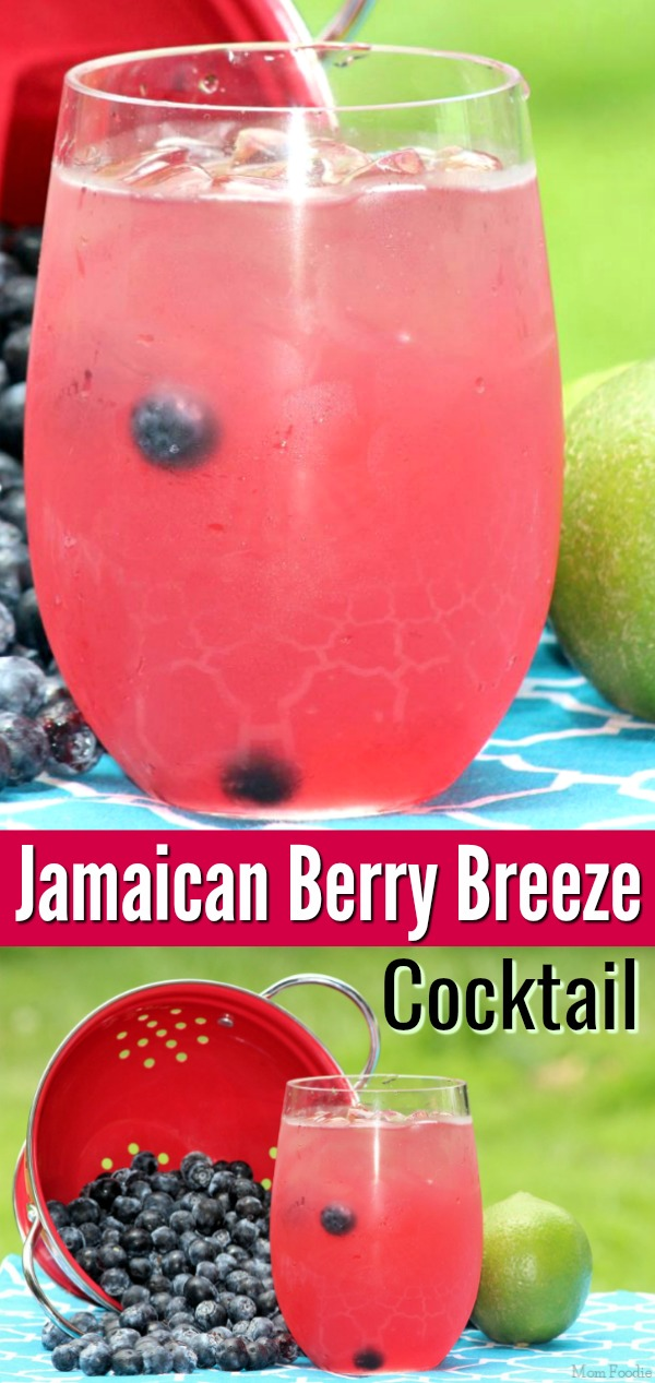 Jamaican Berry Breeze Cocktail