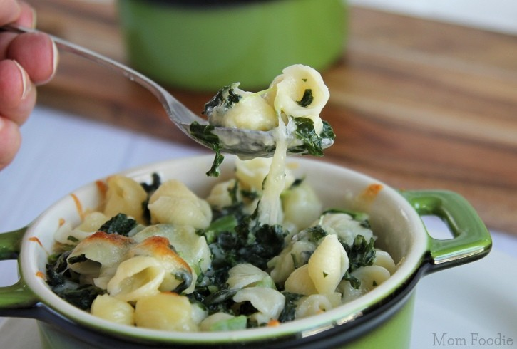 Kale Mac n Cheese
