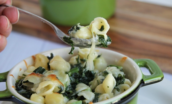 Kale Mac n Cheese recipe