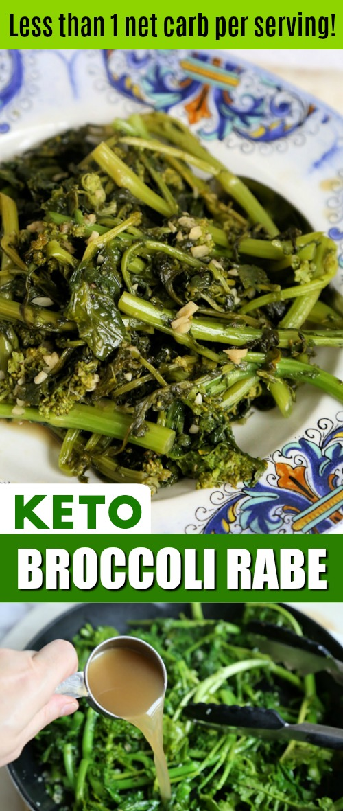 Keto Broccoli Rabe Recipe