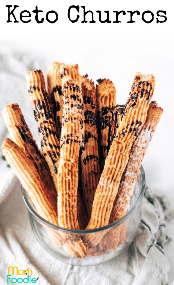 Keto Churros pinterest