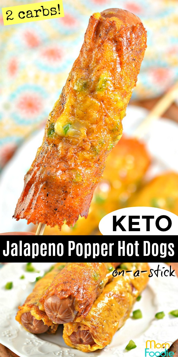 Keto Jalapeno Popper Hot Dogs pinterest.jpg