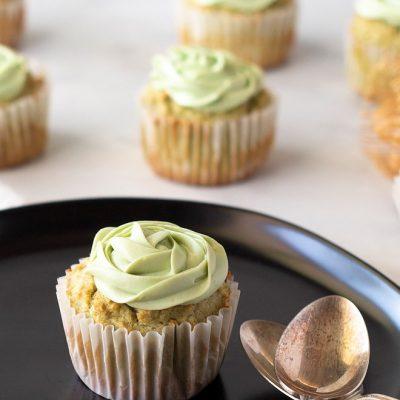 Keto Matcha Cupcakes