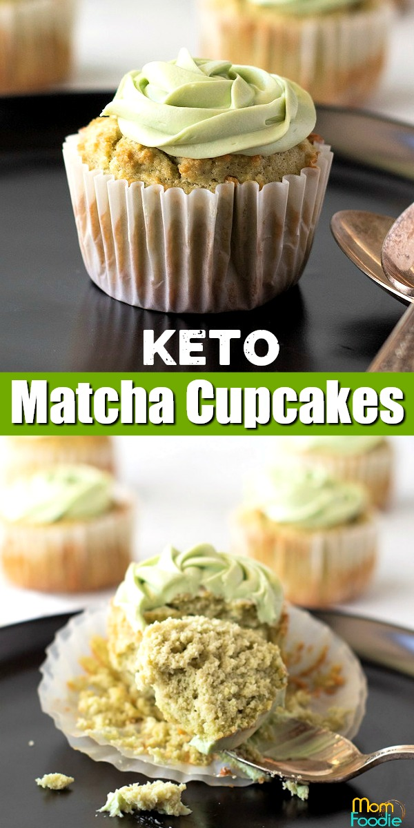 Keto Matcha Cupcakes Pinterest