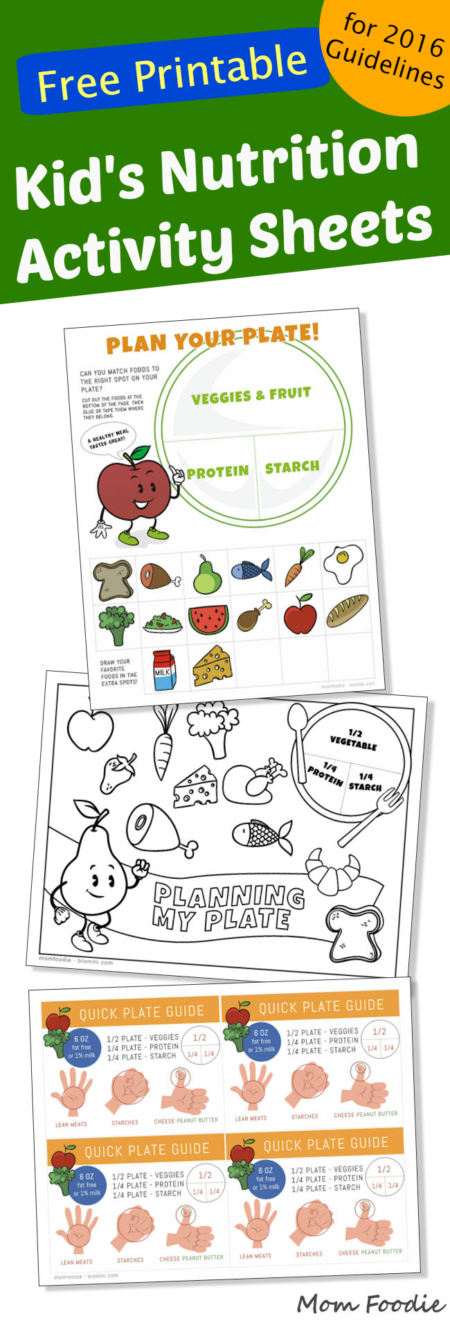 Printable Nutrition Activities for Kids - Mom Foodie