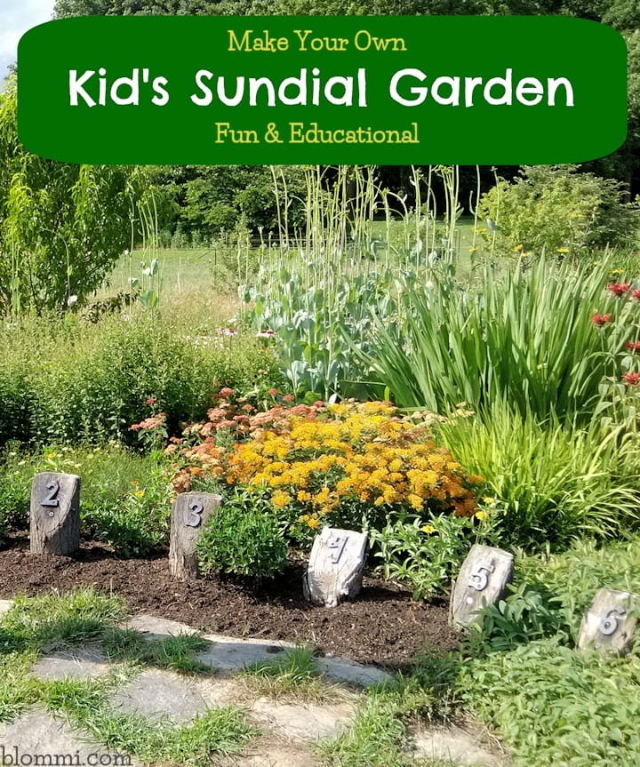 Sundial Garden - Educational Kids Project